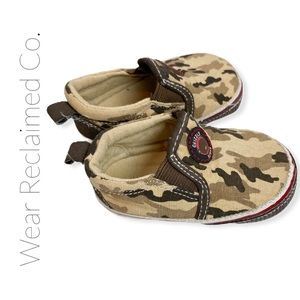 FREE W/PURCHASE: Baby Boy Camouflage Shoes